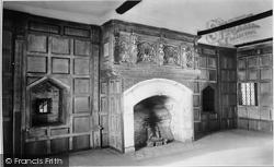 Castle, Solar Room 1910, Stokesay