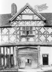 Castle, The Gatehouse 1910, Stokesay