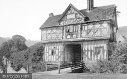 Castle, The Gatehouse c.1880, Stokesay