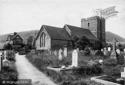 Church And Gatehouse 1910, Stokesay