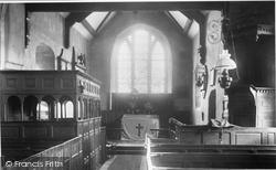 Church Interior 1903, Stokesay