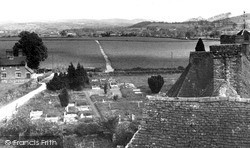Craven Arms From The Castle c.1955, Stokesay