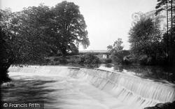 River Onny 1924, Stokesay