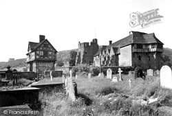 The Castle c.1955, Stokesay