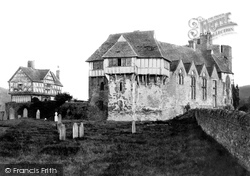 The Castle From The Churchyard c.1865, Stokesay