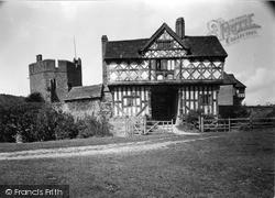 Tudor Gatehouse c.1955, Stokesay