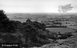 Stokesley, General View From Sheepwash c.1955