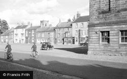 Stokesley, Market Place 1952