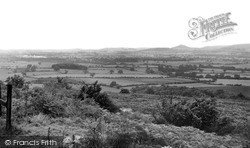 Stokesley, Roseberry Topping From Helmsley Road c.1955