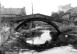 Stokesley, The Old Pack Horse Bridge c.1955