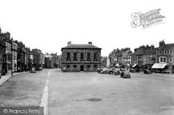 Stokesley, Town Hall And Square c.1955