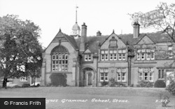 Stone, Alleyne's Grammar School c.1955