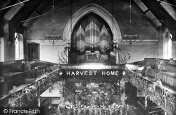 Stone, Congregational Church Interior 1900