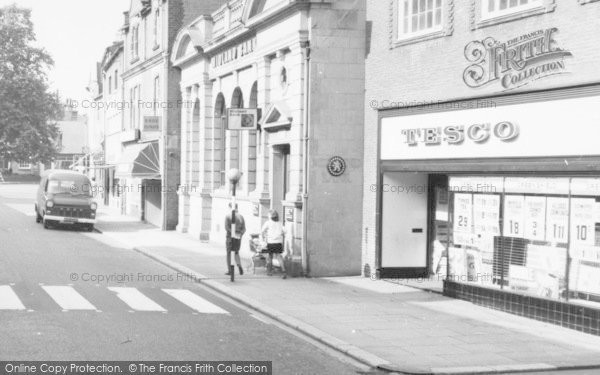 Photo of Stone, Midland Bank And Tesco\'s, High Street c.1965