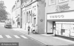 Stone, Midland Bank And Tesco's, High Street c.1965