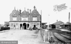 Stone, Railway Station 1900