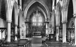 Stone, Roman Catholic Church Interior 1900