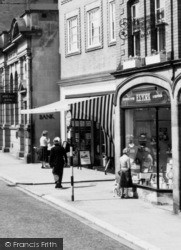 Stone, Shopping On High Street c.1960