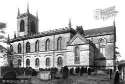Stone, St Michael And St Wulfad's Church 1900