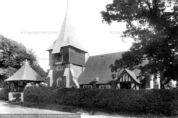 Photo of Stonegate, St Peter's Church 1907