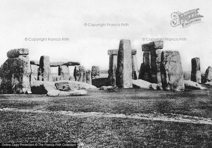 Photo of Stonehenge, 1887