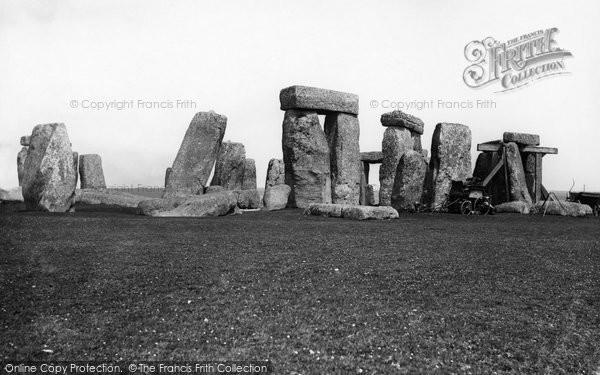 Photo of Stonehenge, 1887
