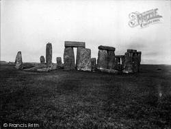 Stonehenge, 1928