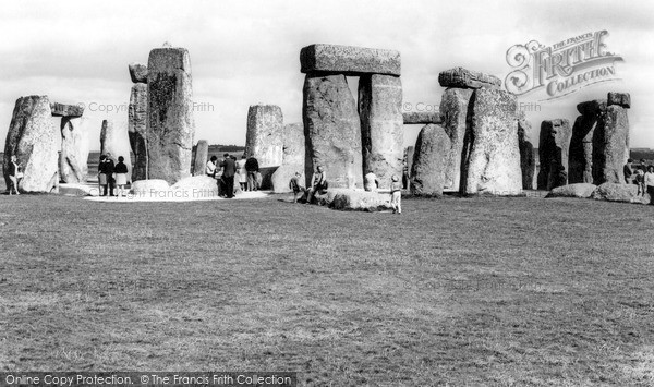Photo of Stonehenge, c1965
