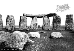 Stonehenge, From The Altar Stone 1887