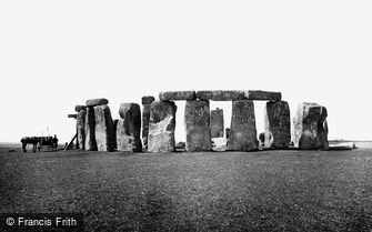 Stonehenge, from the east 1887