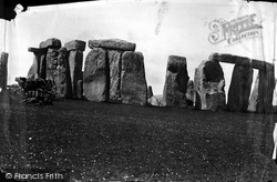 Stonehenge, From The South 1887