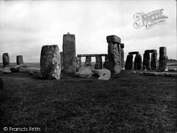 Stonehenge, Looking North East 1928