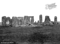Stonehenge, Looking South 1928