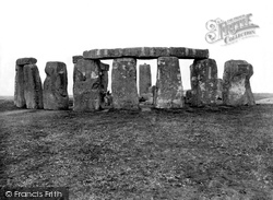 Stonehenge, Looking South West 1928