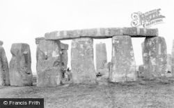 Stonehenge, Looking South West c.1955
