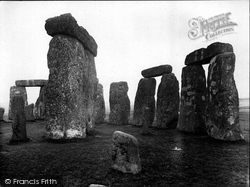 Stonehenge, Outer Circle Of Trilithons 1928