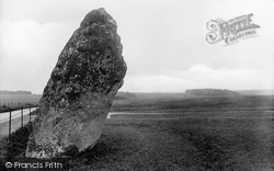 Stonehenge, The Hele Stone Or Friar's Heel 1928