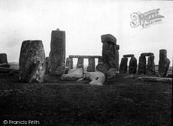 Stonehenge, West 1928