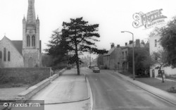 High Street And Wycliffe Church c.1960, Stonehouse