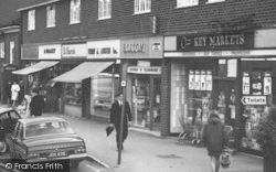 Stonehouse, High Street Shops c.1965