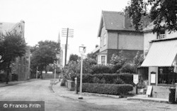 Main Road And Village Shop c.1955, Stonehouse