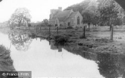 Stonehouse, Parish Church Of St Cyr And Canal c.1955