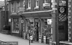 Shop In The High Street 1960, Stonehouse