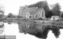 Stonehouse, St Cyr's Parish Church c.1955