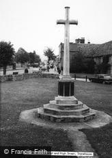Stonehouse, War Memorial and High Street c1960