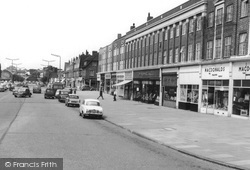 Stoneleigh, The Broadway c.1960
