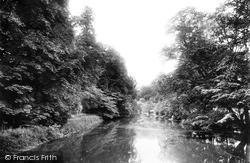Stoneleigh, View From Bridge 1892