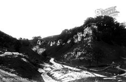 Looking West 1896, Stoney Middleton