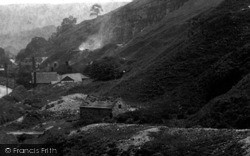 Middleton Dale, Looking East 1896, Stoney Middleton
