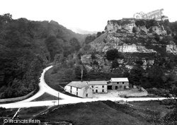 Middleton Dale, Shining Cliff 1919, Stoney Middleton